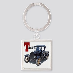 T-truck-10 Square Keychain
