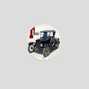T-truck-10 Mini Button
