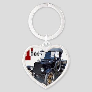 T-truck-10 Heart Keychain