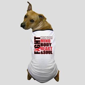 Fight Against Heart Disease Dog T-Shirt