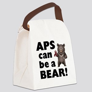 APS Can Be a Bear! Canvas Lunch Bag