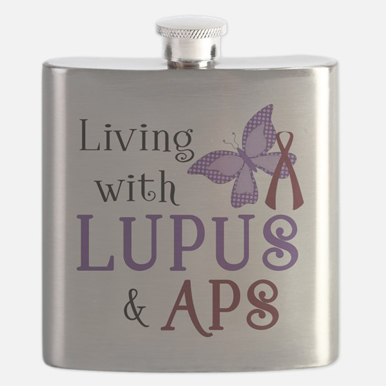 Living with Lupus  APS Flask