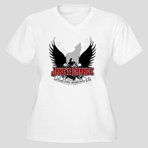 jakesgarage Women's Plus Size V-Neck T-Shirt