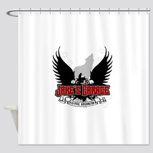 jakesgarage Shower Curtain