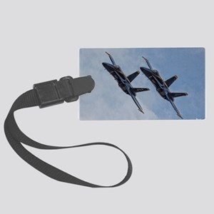 Blue Angels1 Large Luggage Tag