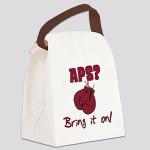 APS? Bring It On! Canvas Lunch Bag