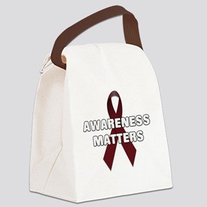 Awareness Matters Canvas Lunch Bag