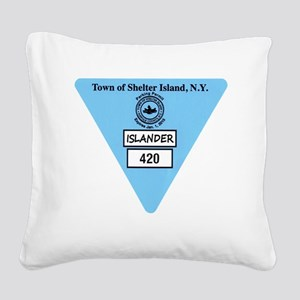 draft1 Square Canvas Pillow