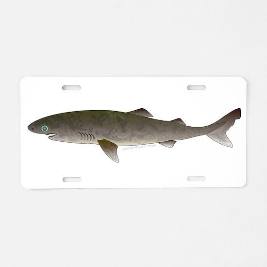 Greenland Shark Aluminum License Plate