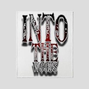 woods1 Throw Blanket