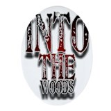 Into the woods Oval Ornaments