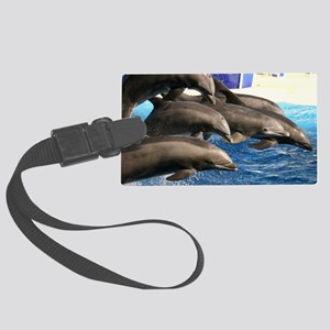 dolphin8 Large Luggage Tag