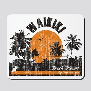 Waikiki - Beach Resort Mousepad
