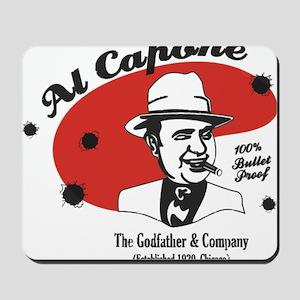 Big Al Capone Mousepad