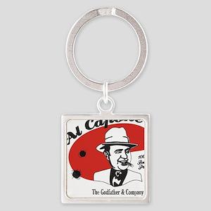 Big Al Capone Square Keychain