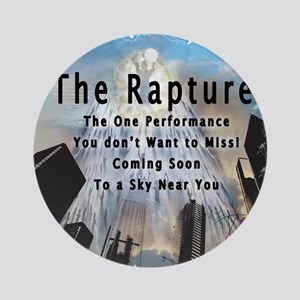 The Rapture Round Ornament