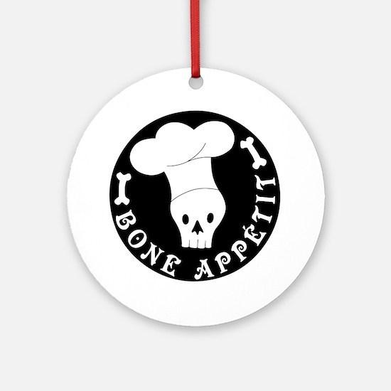 boneappetit8inch Round Ornament