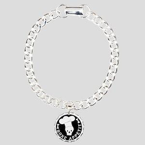 boneappetit8inch Charm Bracelet, One Charm