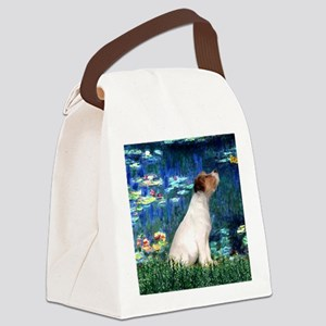 SFP-Lilies5-JRT7-lkup Canvas Lunch Bag