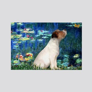 SFP-Lilies5-JRT7-lkup Rectangle Magnet