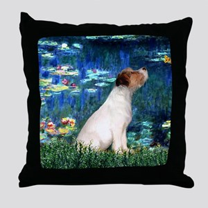 SFP-Lilies5-JRT7-lkup Throw Pillow