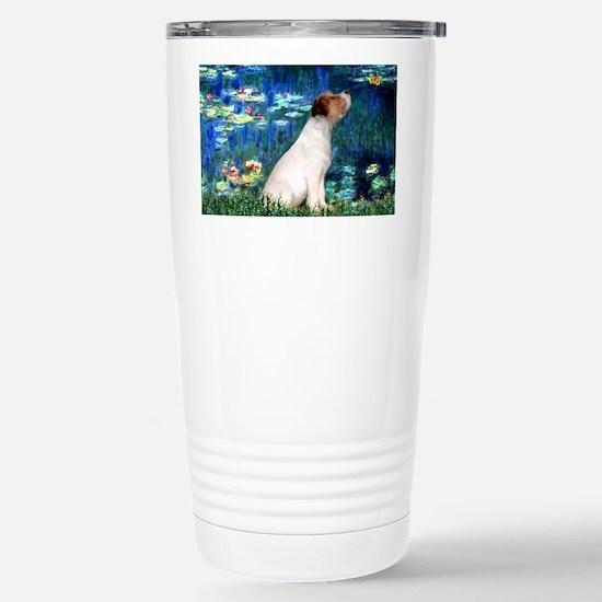 SFP-Lilies5-JRT7-lkup Stainless Steel Travel Mug