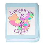 Longquan China baby blanket