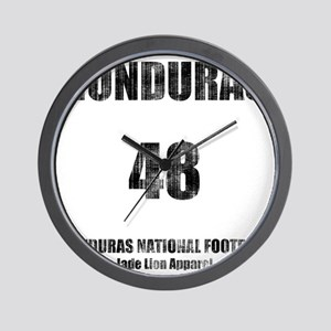 Honduras football vintage Wall Clock