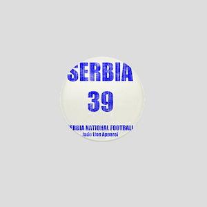 Serbia football vintage Mini Button
