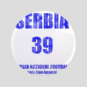 """Serbia football vintage 3.5"""" Button"""