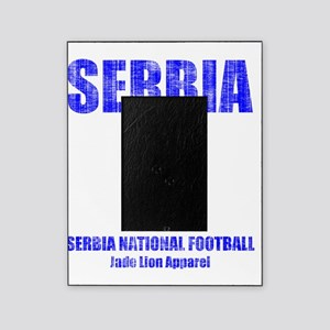 Serbia football vintage Picture Frame