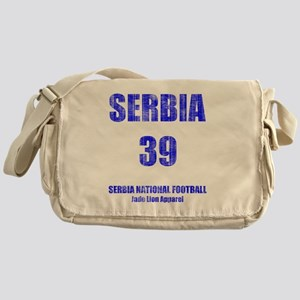 Serbia football vintage Messenger Bag