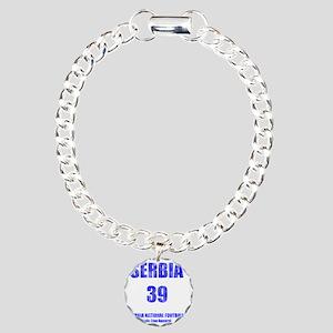 Serbia football vintage Charm Bracelet, One Charm