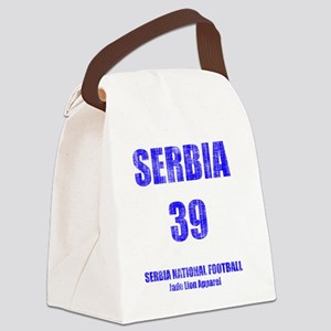 Serbia football vintage Canvas Lunch Bag
