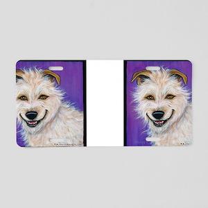 Terrier Mix Charlie Aluminum License Plate