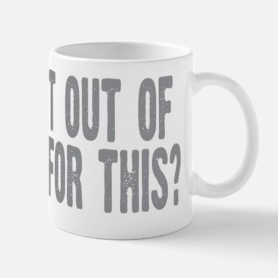 outofbed Mug