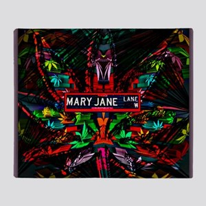Mary Jane Lane Throw Blanket