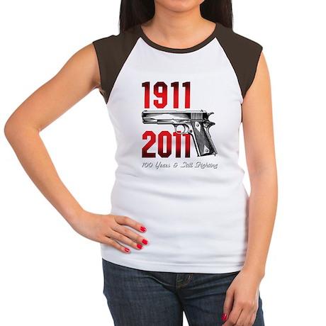 3-Colt_2011KMM Women's Cap Sleeve T-Shirt