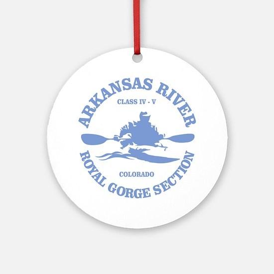 Arkansas River (Royal Gorge) Ornament (Round)