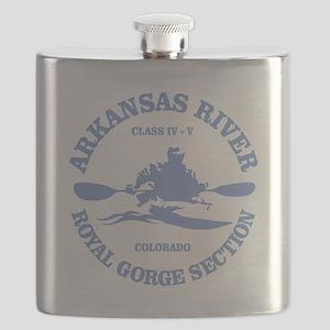 Arkansas River (Royal Gorge) Flask