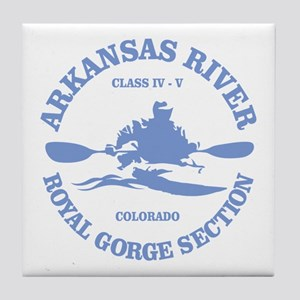 Arkansas River (Royal Gorge) Tile Coaster