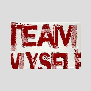 teammyself Rectangle Magnet