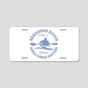 Arkansas River (Royal Gorge) Aluminum License Plat