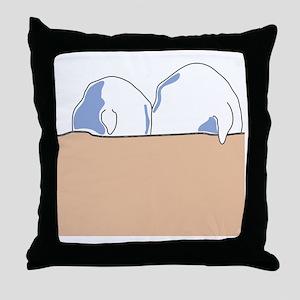totesback Throw Pillow
