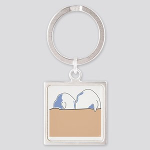 totesback Square Keychain