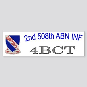 2nd Bn 508th ABN Cap2 Sticker (Bumper)