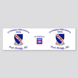 2nd Bn 508th ABN Mug Sticker (Bumper)