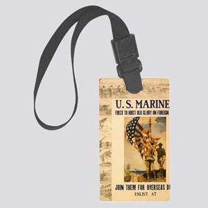 02_recruiting Large Luggage Tag