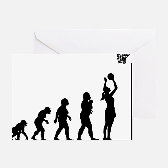 Netball Greeting Card