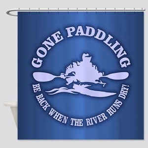 Gone Paddling 3 Shower Curtain